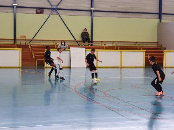 Match Amical Futsal U10U11: CSA Doullens - Annoeullin Futsal 04/10/20