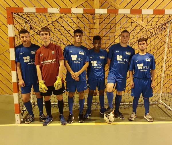 Entrainement Futsal avec l'Epide de Doullens