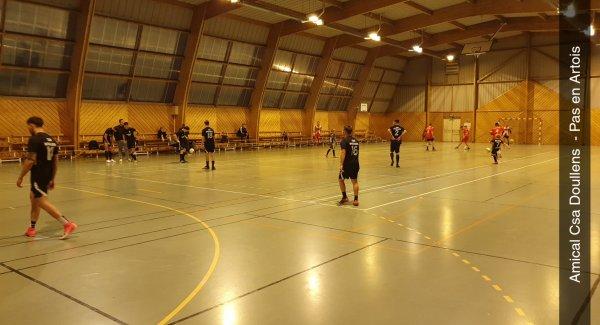 Match Amical Futsal: CSA Doullens - Pas en Artois 19/10/20