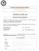 Bulletin d'inscription Tournoi Futsal Féminin 24 Avril 2021