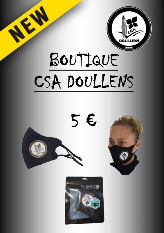 Masque CSA Doullens