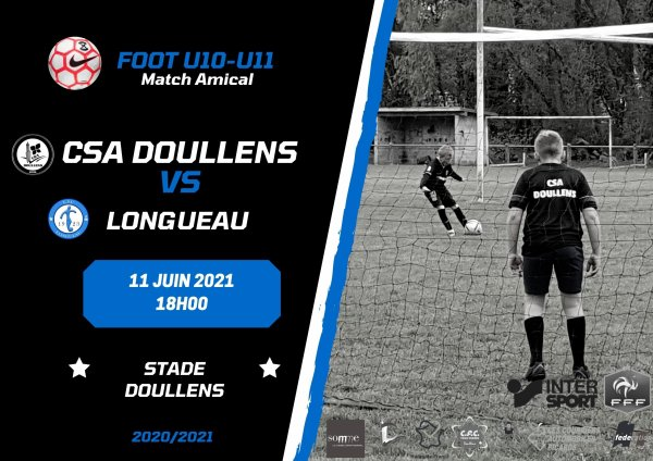 Amical Foot Herbe CSA Doullens - Longueau 07/06/21