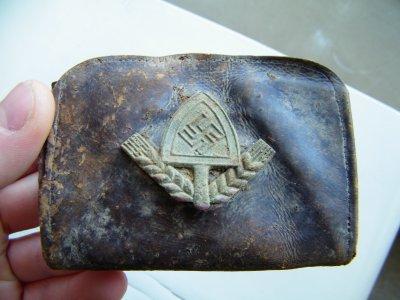porte monnaie nazi extrêmement rare