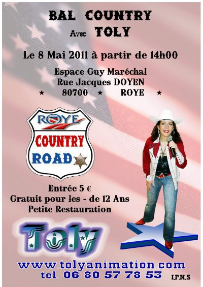 Roye country road