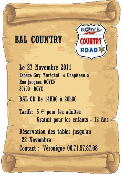 BAL COUNTRY A ROYE