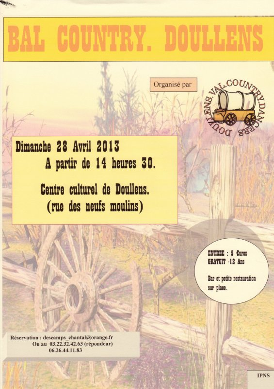 BAL COUNTRY A DOULLENS LE 28 AVRIL 2013