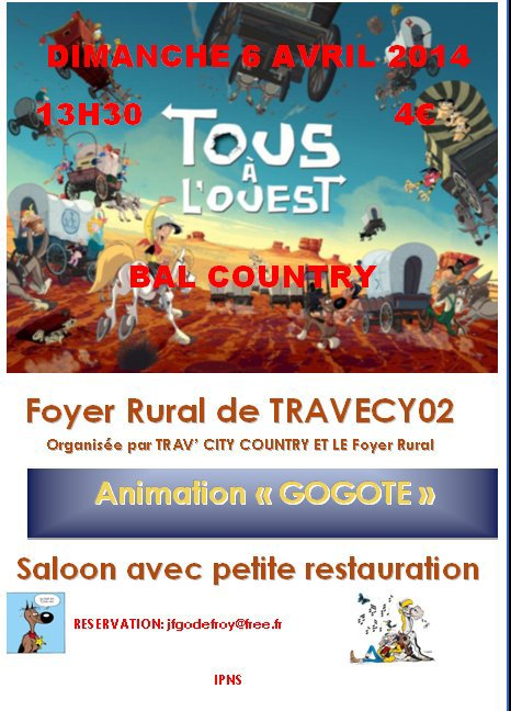 BAL COUNTRY A TRAVECY (02) LE 6 AVRIL 2014