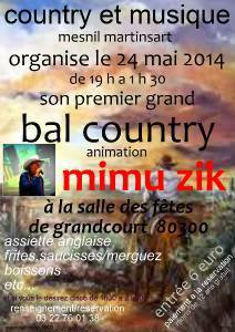 BAL COUNTRY A GRANDCOURT (80) LE 24 MAI 2014
