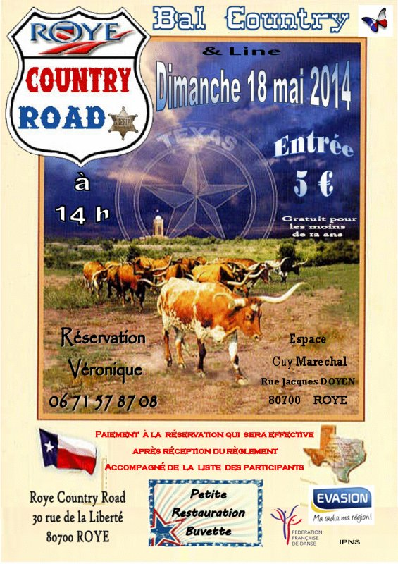 BAL COUNTRY A ROYE (80) LE 18 MAI 2014