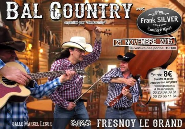 BAL COUNTRY A FRESNOY LE GRAND (02) LE 21 NOVEMBRE 2015