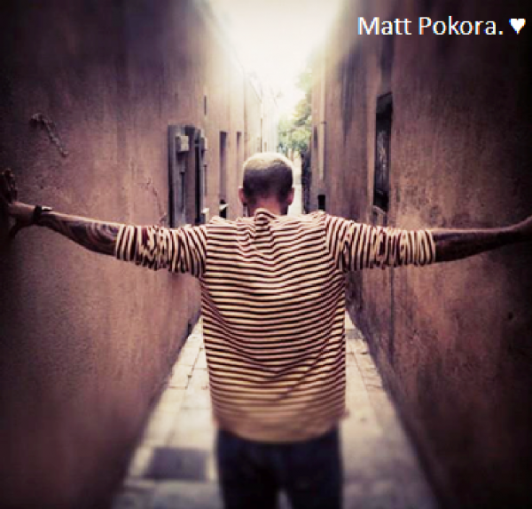 Matt sa nouvelle photo.♥