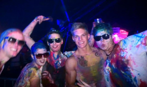 soooo niiiice *__* neon splash paint