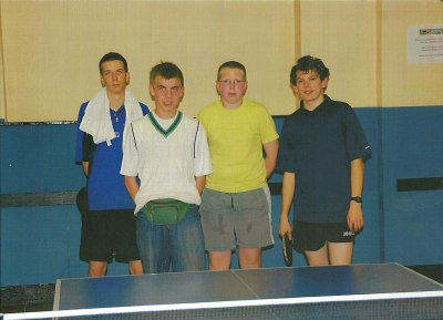 mon équipe de tennis de table année 2009-2010