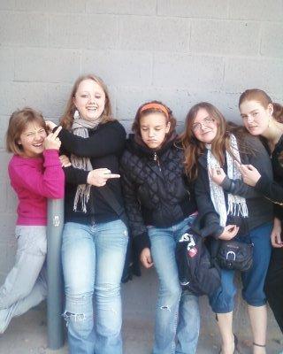 Mon groupe de filles.