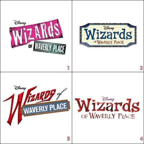 Découvrez 4 logos différents réalisé par Disney pour « Sorciers de Waverly Place »