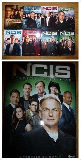 Et voilà, la collection est terminée ! Devinez ce que j'ai eu pour noël : la dernière et 8° saison d'NCIS en DVD. Et maintenat, j'ai toutes les saisons de 1 à 8. Je suis trop contente  $) !!! Donc, je n'est plus qu'à attendre que la 9 sorte elle aussi ; et ça ne devrait plus tarder :D ....