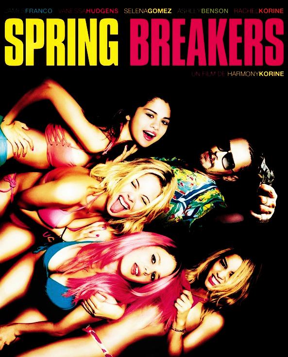 Découvrez l'affiche française du film « Spring Breakers »  qui sort au cinéma le 6 mars