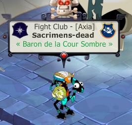 Titre Baron de la Cour Sombre