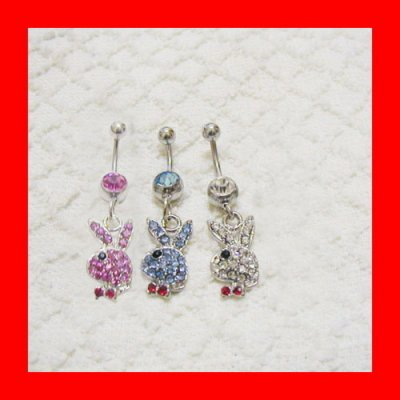 piercing nombril play boy : 4,50 ¤