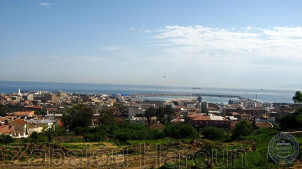 panorama de la ville de Jijel