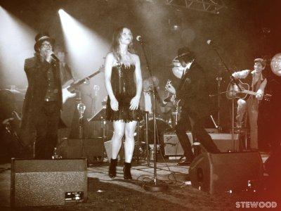 Mini concert Vanessa Paradis, M et Sean Lennon