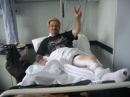 johnny*lou a l'hôpital