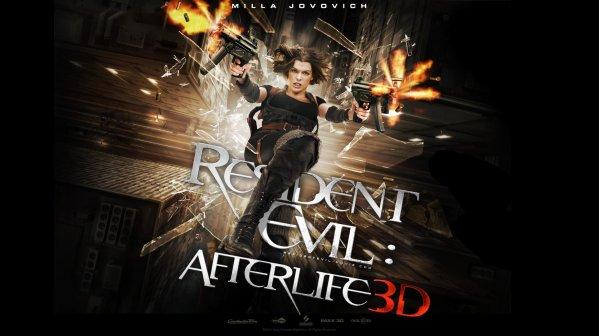. Resident Evil Afterlife .
