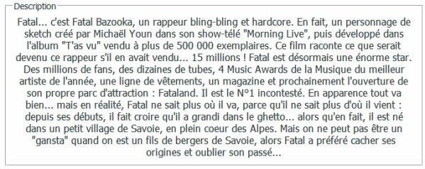 . Fatal Le Film .