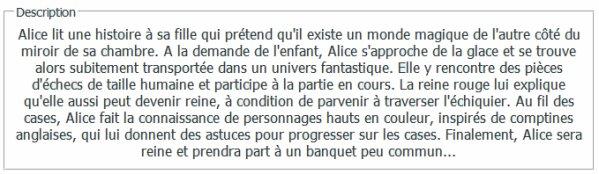 . Alice Le Film .