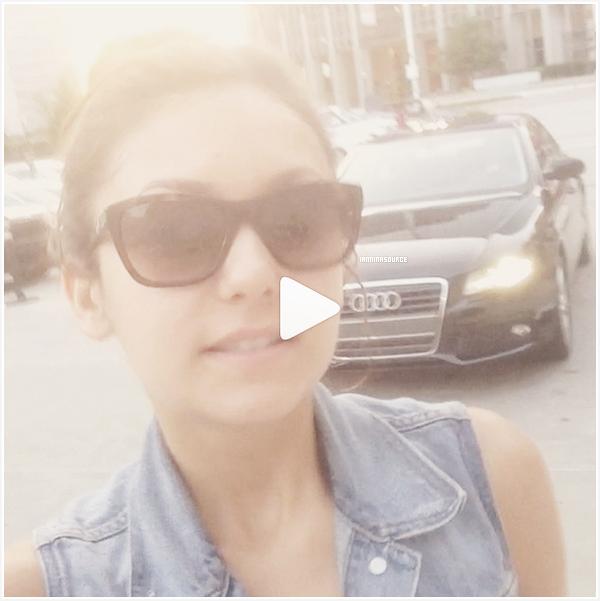 . Découvrez une vidéo que Nina a postée sur son compte Instagram. Cliquez sur l'image pour voir la vidéo. .