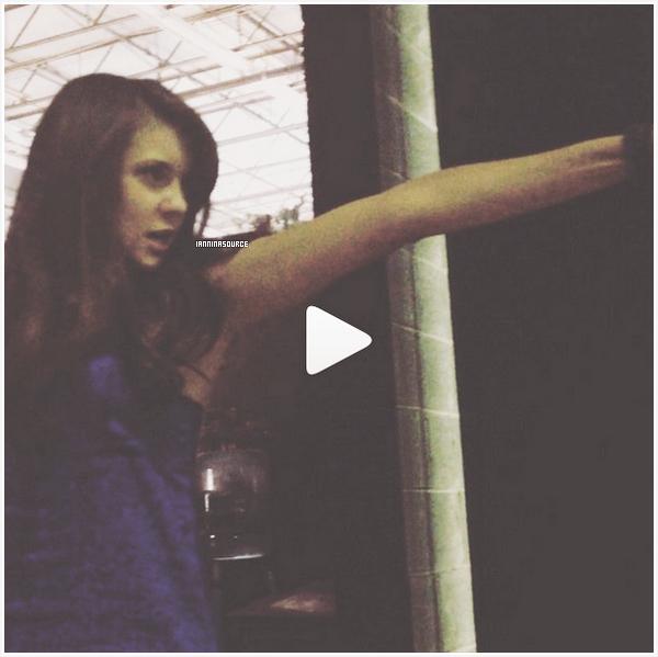 . Découvrez une nouvelle vidéo de Nina, postée  sur sont compte instagram. Cliquez sur l'image pour accéder à la vidéo. .
