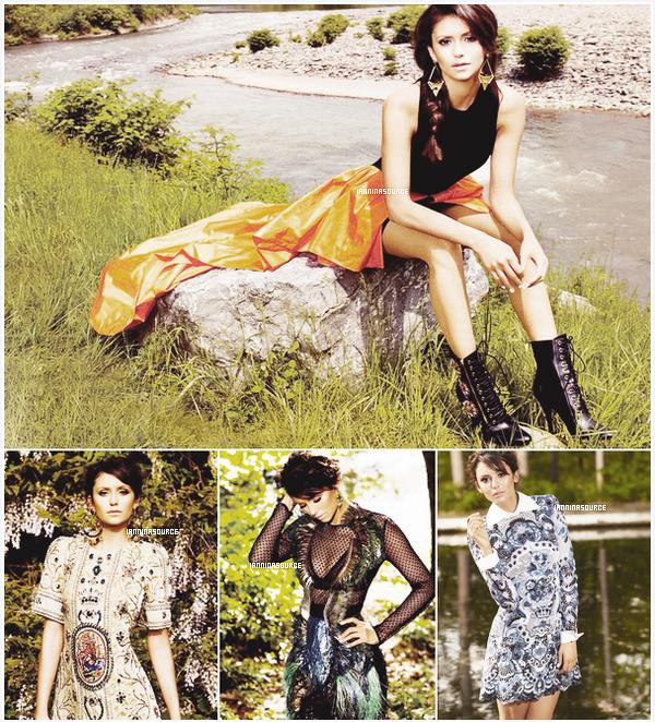 . Découvrez ou redécouvrez le magnifique shoot de Nina pour le CosmopolitanMagazine de l'édition de Septembre 2013. .