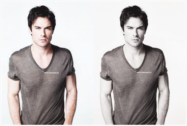 . Découvrez une photo promotionnelle de Ian pour la saison 05 de The Vampire Diaries. .