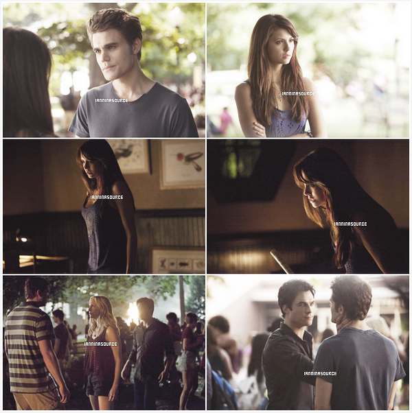 """. Découvrez de nouveaux stills de l'épisode 02 de la saison 05 de The Vampire Diaries intitulé """"True Lies"""". ."""
