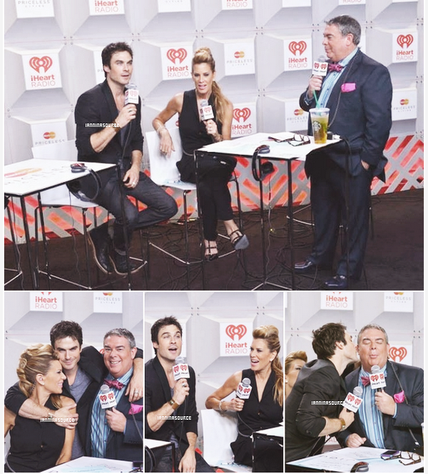 . Le 21 septembre 2013, Ian était présent au Festival de musique iHeartRadio. .