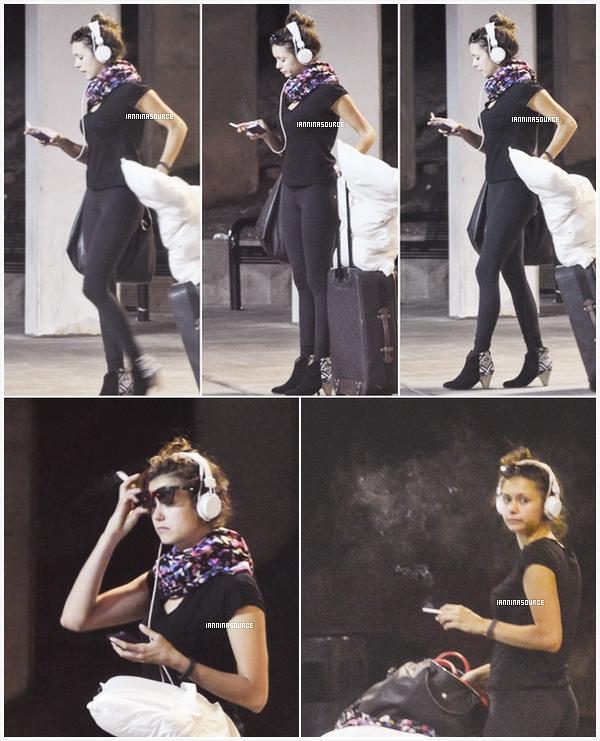 . Le 23 septembre 2013, Nina a été aperçue à l'aéroport Hartsfield-Jackson, à Atlanta. .