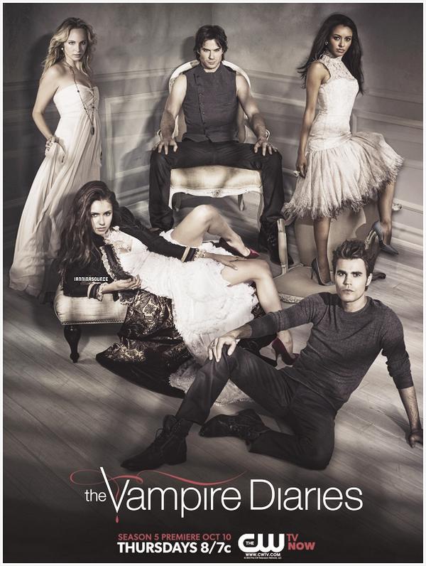 . Découvrez un nouveau poster pour la saison 05 de The Vampire Diaries. .