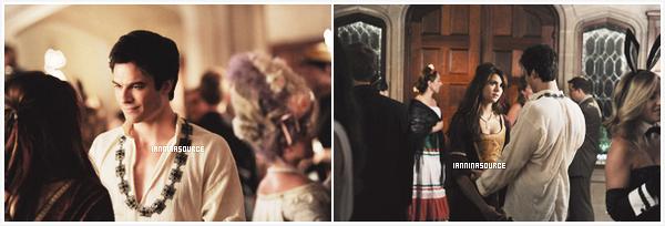 """. Découvrez de nouveaux stills de l'épisode 05 de la saison 05 de The Vampire Diaries intitulé """"Monster'sBall"""". ."""