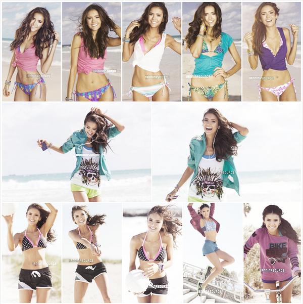 . Découvrez ou redécouvrez un shoot de Nina pourSeventeen FitnessMagazine. .