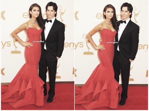 . Le 29 septembre 2011, Ian et Nina étaientprésents sur le tapis rouge des EmmyAwards 2011 ! .