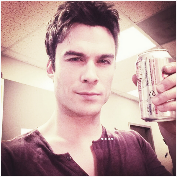 . Nouvelle photo personnelle de Ian postée sur Twitter. .