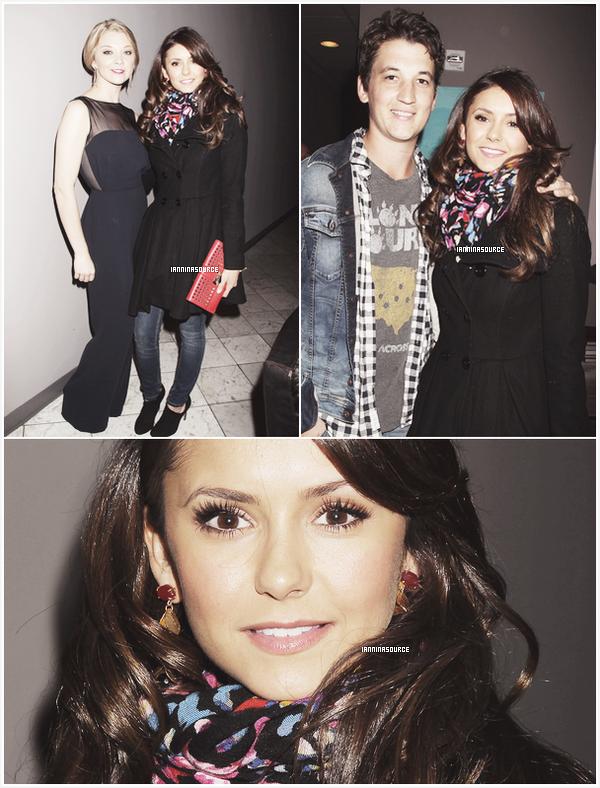 . Le 26 octobre 2013, Nina était présente à la nuit d'ouverture du 16ième festival du film de Savannah.  .