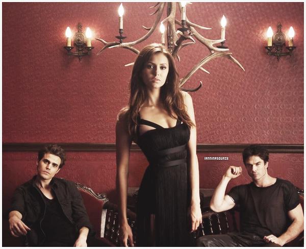 """. Découvrez une nouvelle photo promotionnelle pour la saison 05 de """"The Vampire Diaries"""". ."""
