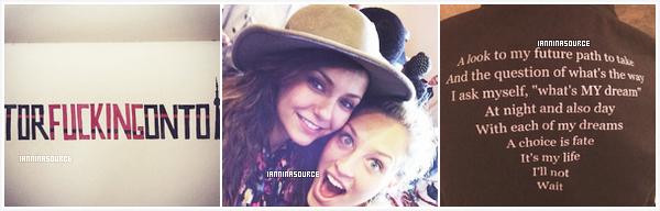 . Nouvelles photos personnelles de Nina postées sur Instagram. .