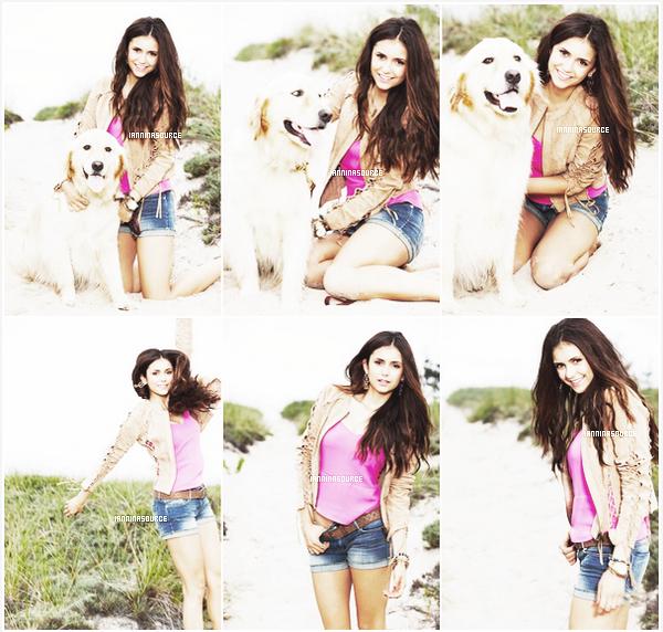 . Découvrez ou redécouvrez un shoot de Nina pour Self Magazine. .
