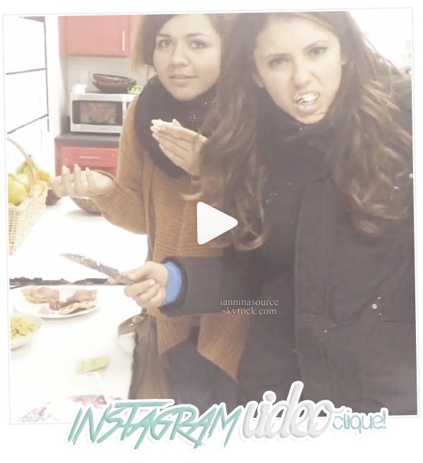 . Nouvelles photos personnelles de Nina et vidéo postées sur Instagram. .