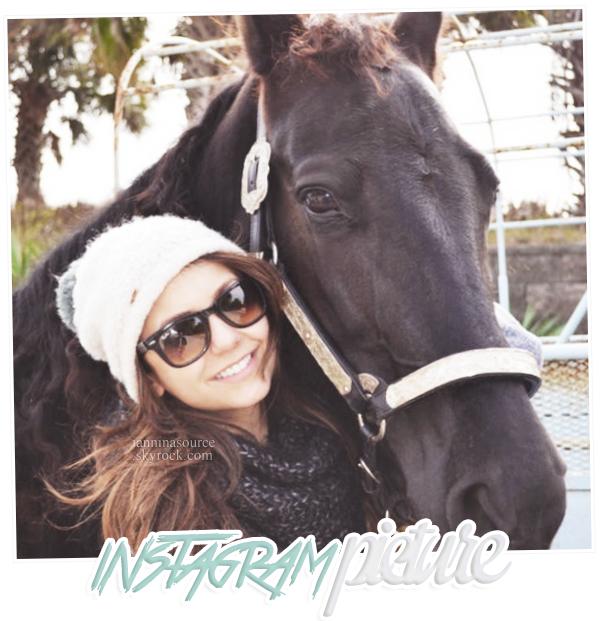 . Nouvelle photo personnelle de Nina postée sur Instagram. .