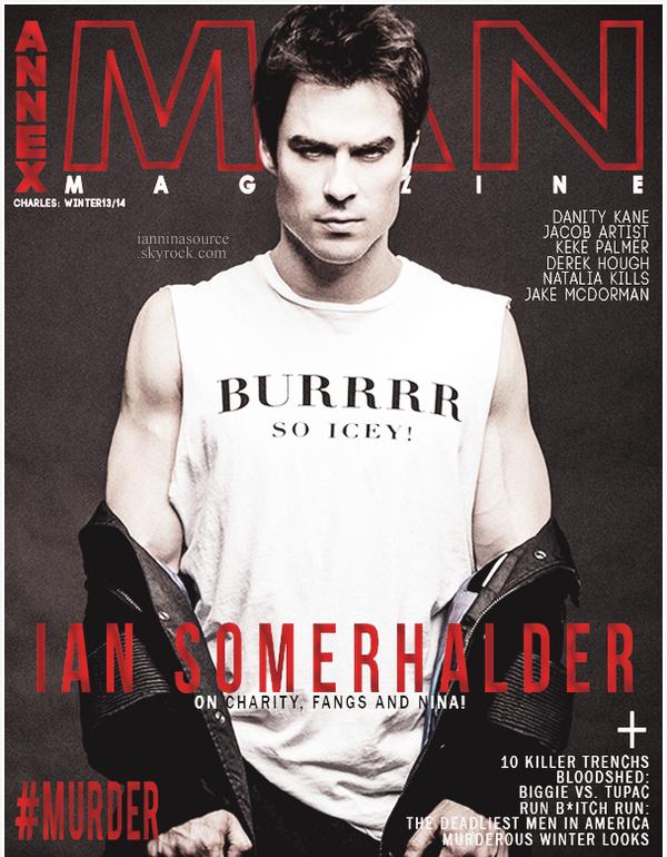 . Découvrez le shoot de Ian pour Annex Man Magazine. .