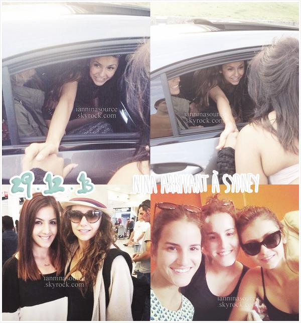 . Le 29 décembre 2013, Nina est arrivée à Sydney ! .