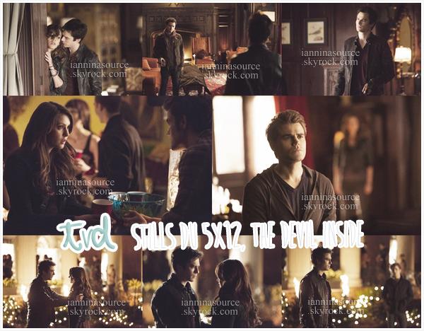 """. Voici de nouveaux stills de l'épisode 12 de la saison 05 de The Vampire Diaries intitulé """"The Devil Inside"""". ."""
